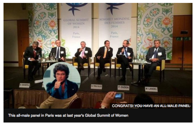 Panels of 'Experts' Show Stunning Lack of Diversity